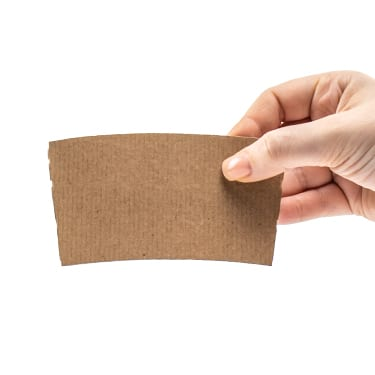 Kraft Corrugated Coffee Sleeves