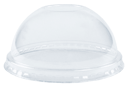 8oz Dome Food Container Lid
