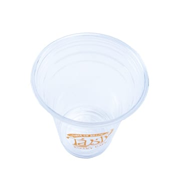 Printed 12 oz PET Clear Cups