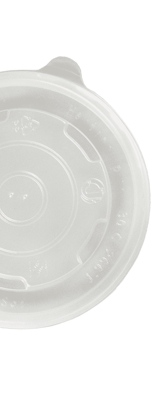12oz Flat Food Container Lids