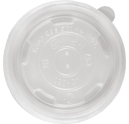 8oz Flat Food Container Lids