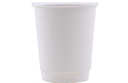 8oz Double Walled Hot Cups - Full Wrap Printed