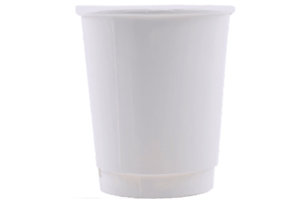 8oz Double Walled Hot Cups - Unprinted