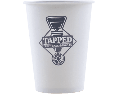 12oz Eco Single Wall Hot Cups
