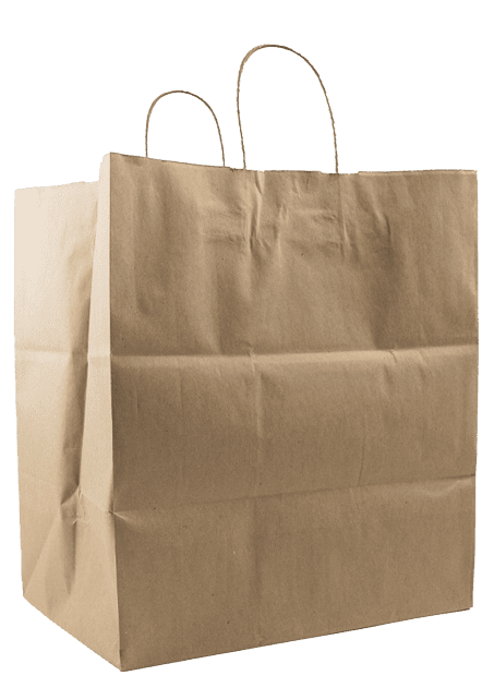 Handle Shopper Large Kraft Bag