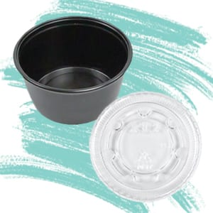 Takeout Portion Cups and Lids