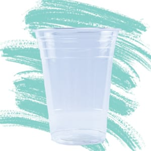 Unprinted Eco-Friendly Plastic Cups