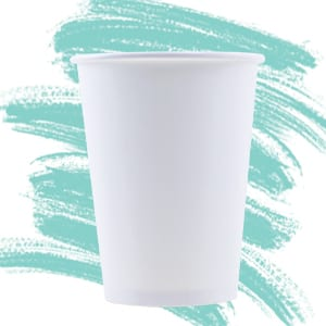 Unprinted Eco-Friendly Hot Cups