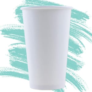 Unprinted Paper Cold Cups