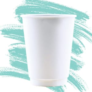 Unprinted Double Wall Hot Cups