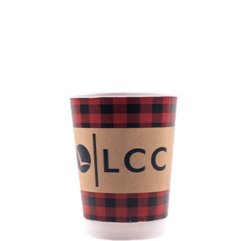 12 oz Custom Printed Double Wall Paper Hot Cups