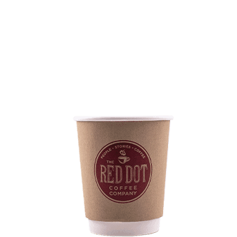 8 oz Custom Printed Double Wall Paper Hot Cups